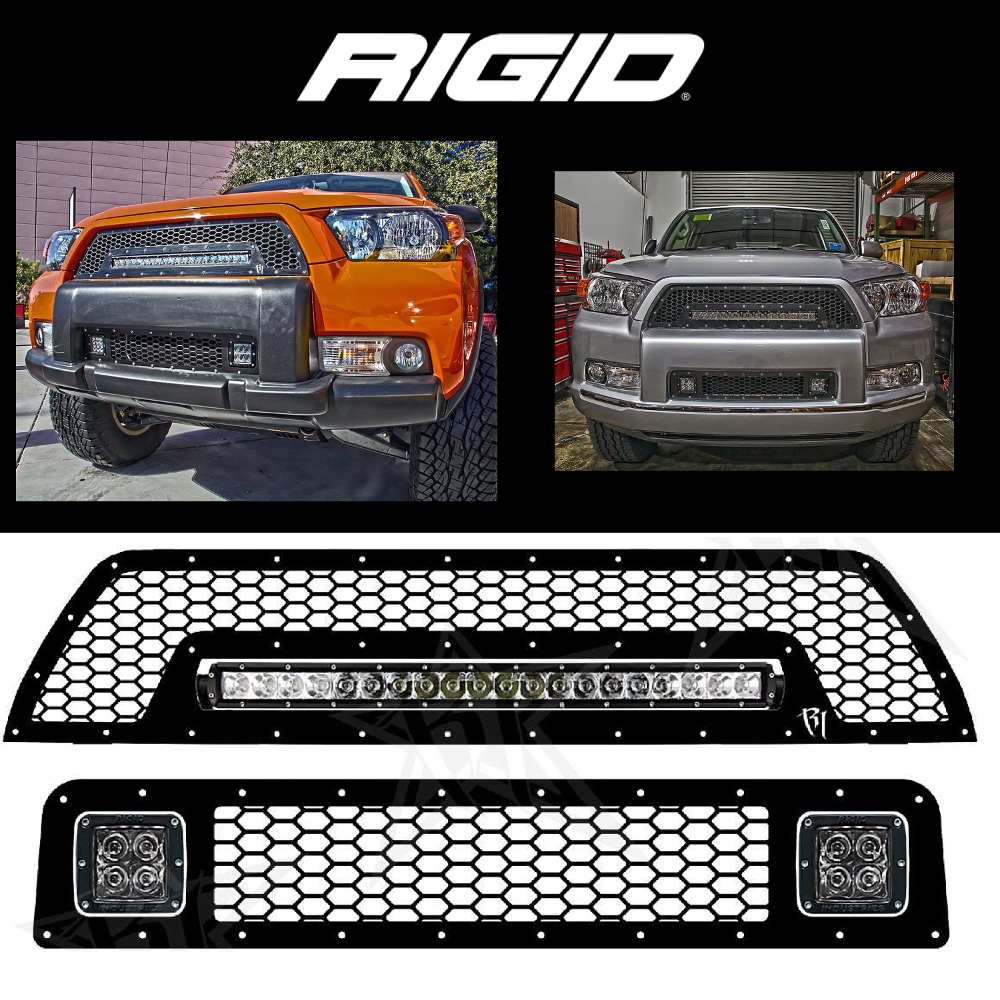 Toyota Prius 4th Generation: Rigid Industries LED GRILLE KIT 2010-2013 TOYOTA 4-RUNNER