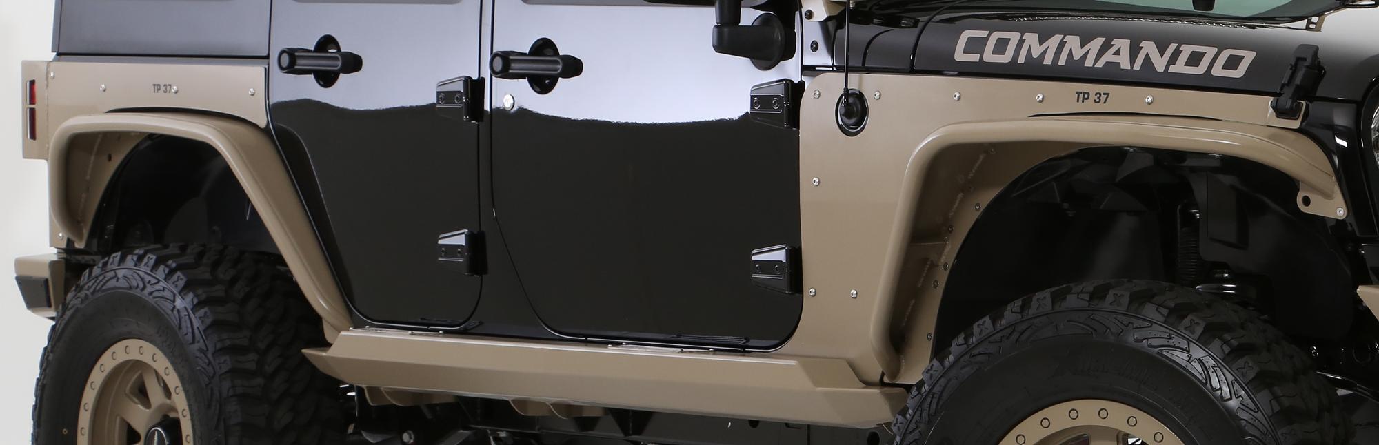 Lift Kits For Jeeps >> Smittybilt POISON SPYDER CRUSHER FENDER FLARES | Californa ...
