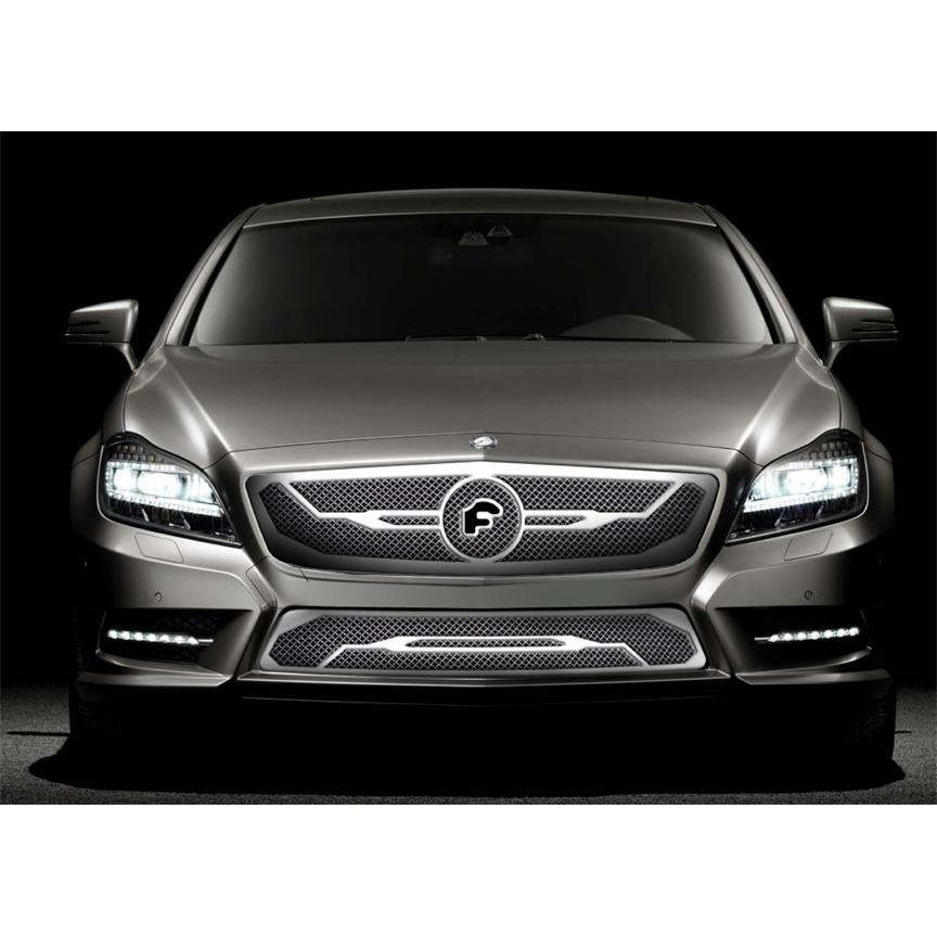 Forgiato accessories mercedes benz cls grille californa for Mercedes benz accessories