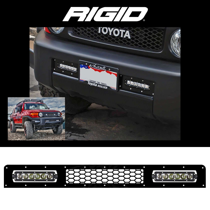 LOWER LED GRILLE 2005-2014 TOYOTA FJ CRUISER