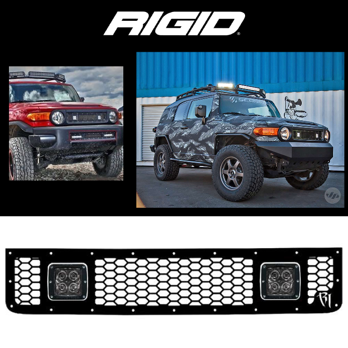 UPPER LED GRILLE 2005-2014 TOYOTA FJ CRUISER