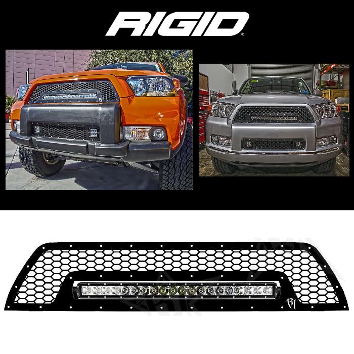 4RUNNER LOWER LED GRILLE 2010-2013 TOYOTA