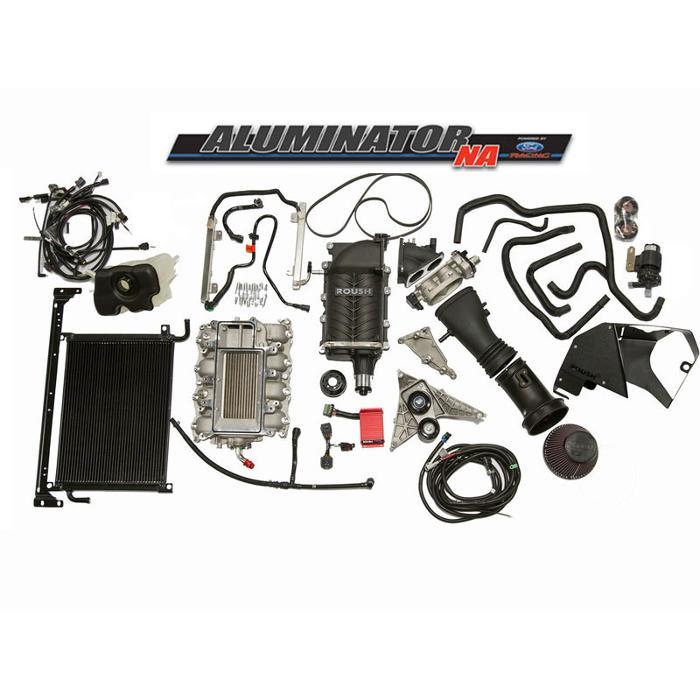 2011-2014 5.0L Ford Aluminator Engine - ROUSH Phase 3 - 675 HP Supercharger Kit