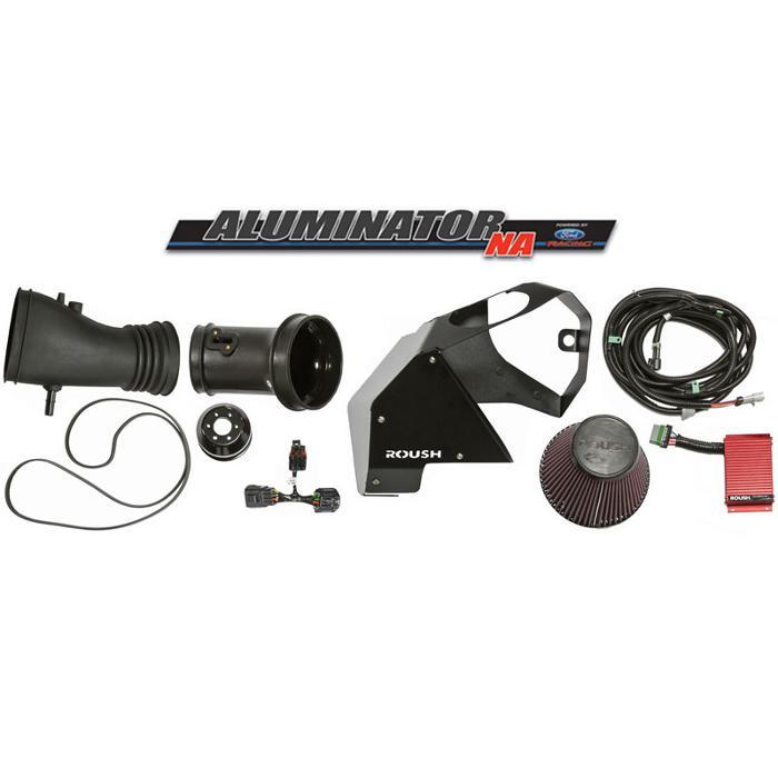 2011-2014 5.0L Ford Aluminator Engine - ROUSH Phase 1 to Phase 3 Supercharger Kit
