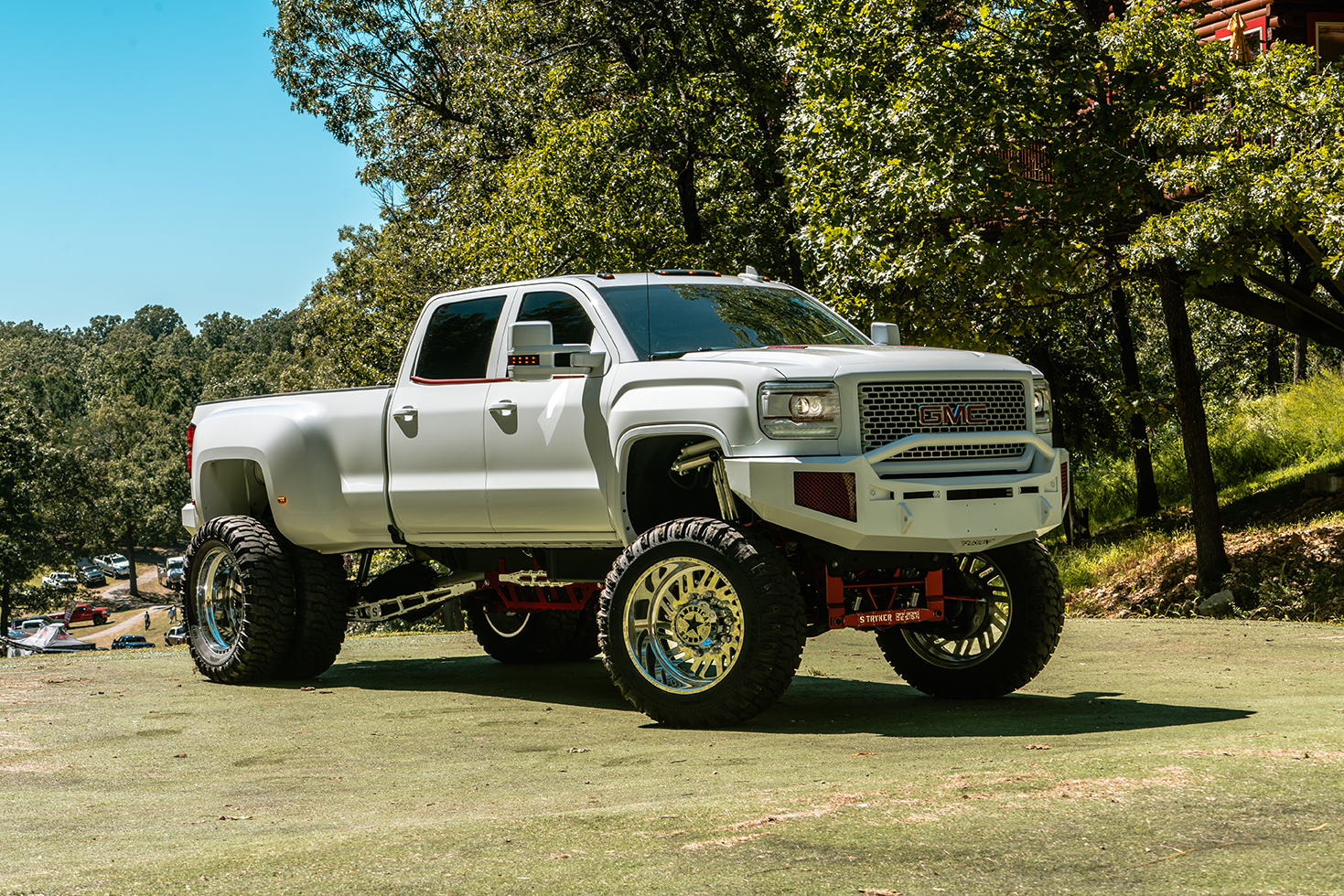 1998 Gmc Sierra 3500 Dually >> American Force Dually With Adapters Series 70 Shift DRW Wheels | California Wheels
