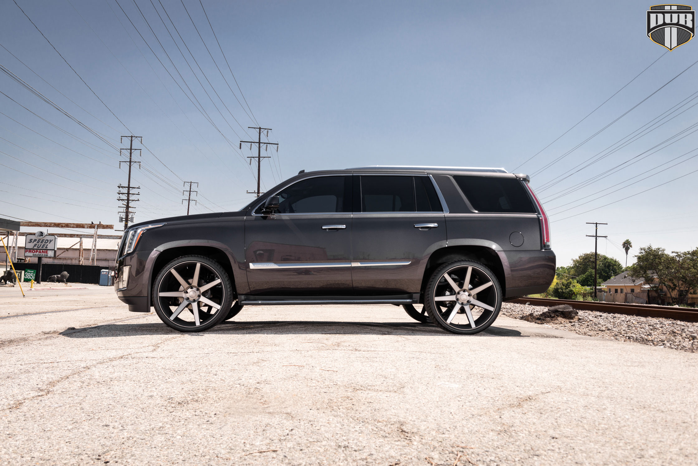 Car Cadillac Escalade On Dub 1 Piece Future S127 Wheels
