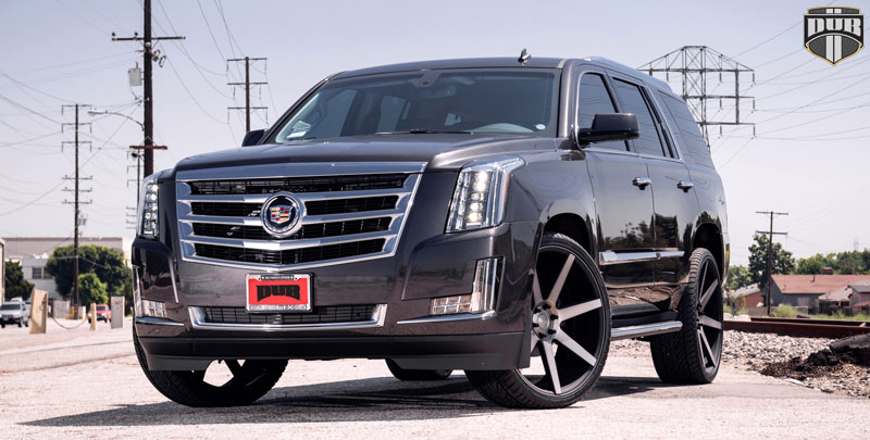 Car | Cadillac Escalade on DUB 1-Piece Future - S127 ...