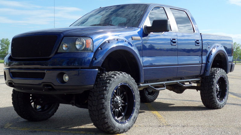 Car | Ford F-150 on Fuel 1-Piece Hostage - D530 Wheels ...