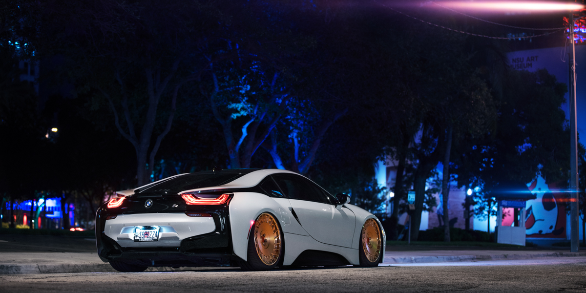 Car Bmw I8 On Rotiform Cbu Wheels California Wheels