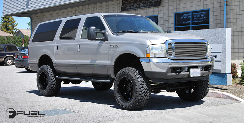 Car | Ford Excursion on Fuel 1-Piece Hostage - D531 Wheels ...
