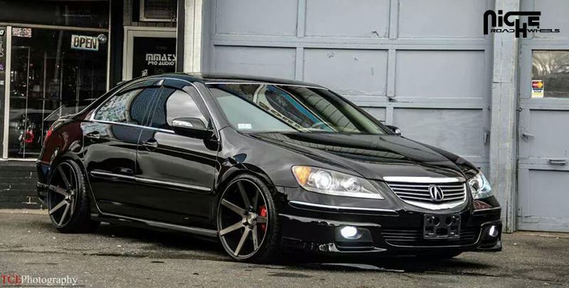 Car Acura Rl On Niche Sport Series Verona M150 Wheels