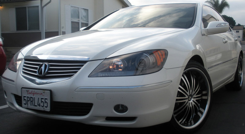 Car Acura RL On Wheels California Wheels - Acura rl wheels