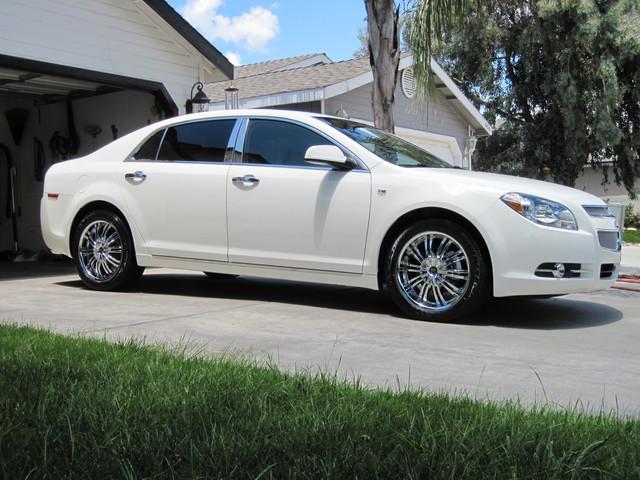 Car Chevrolet Malibu On Wheels California Wheels