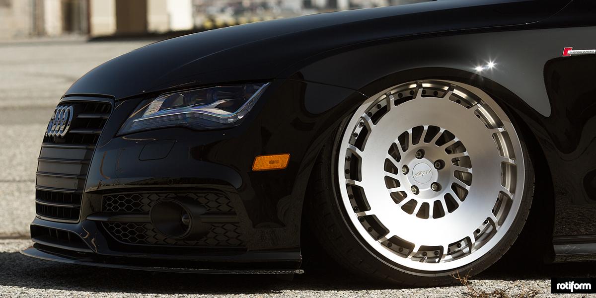 Car Audi A7 On Rotiform Ccv Wheels California Wheels