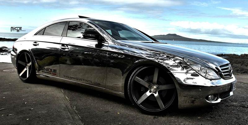 Car mercedes benz cls500 on niche sport series milan for Mercedes benz cls series
