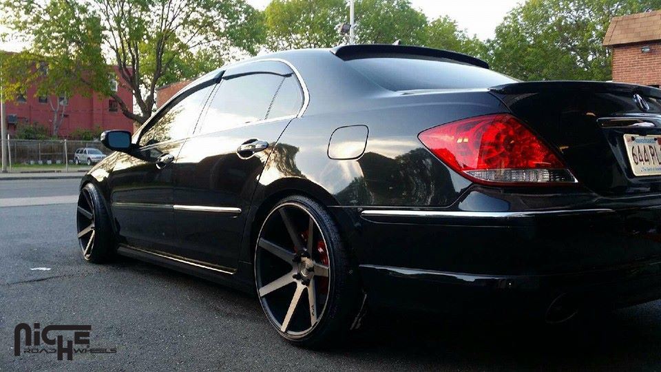 Car Acura RL On Niche Sport Series Verona M Wheels - Acura rl wheels