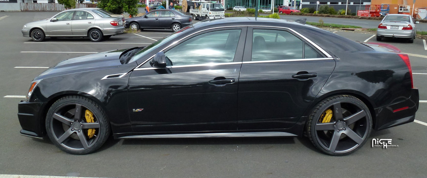 shoot v photo that did vehicle a on great mile wheels cadillac car hennessey in and amazing looks custom this cts quarter performance black is such forged seconds the