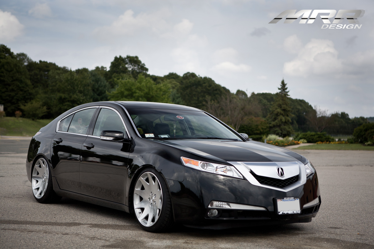 car acura tl on mrr design hr3 wheels california wheels