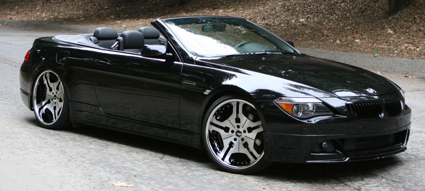 Car BMW Series Convertible On Forgiato FIA Wheels California - 2003 bmw 6 series