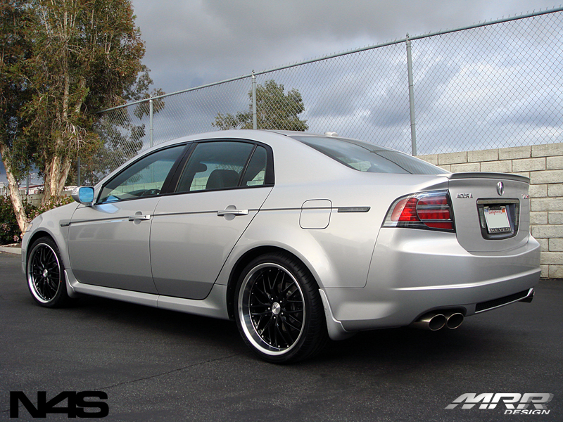 Car Acura Tl On Mrr Design Gt1 Wheels California Wheels