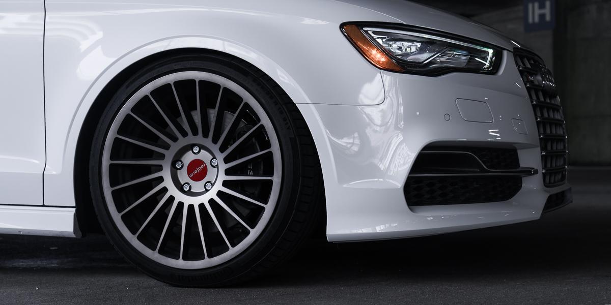 Car | Audi A3 on Rotiform IND-T Wheels | California Wheels