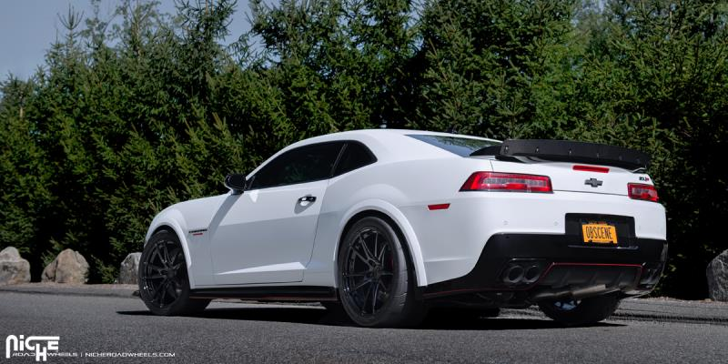 car chevrolet camaro on niche forged grand prix wheels california wheels. Black Bedroom Furniture Sets. Home Design Ideas