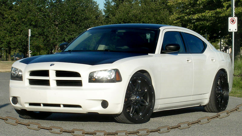 Car Dodge Charger On Fuel 1 Piece Hostage D530 Wheels