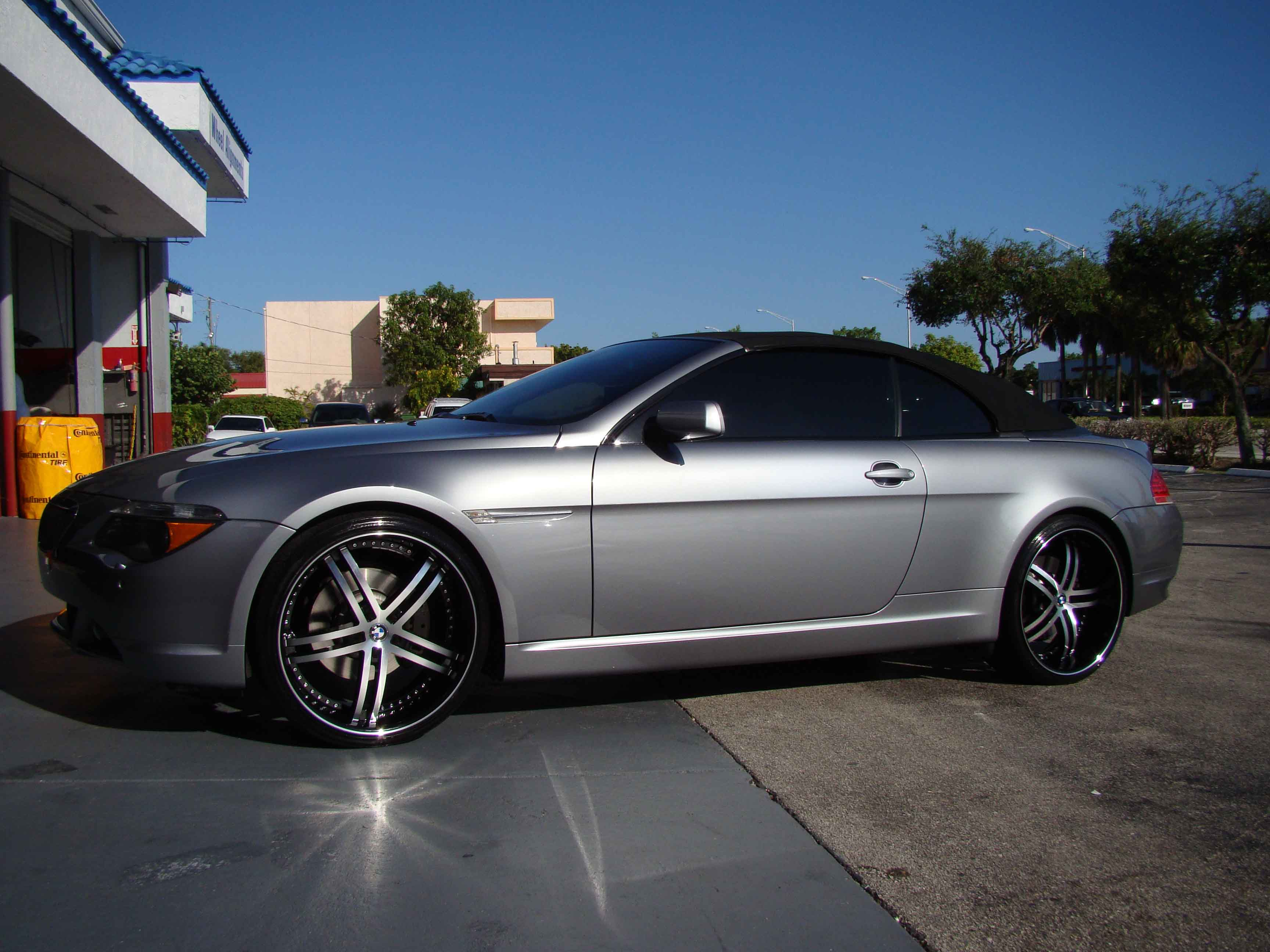 Car Bmw 6 Series Convertible On Status S816 Knight 5 Wheels