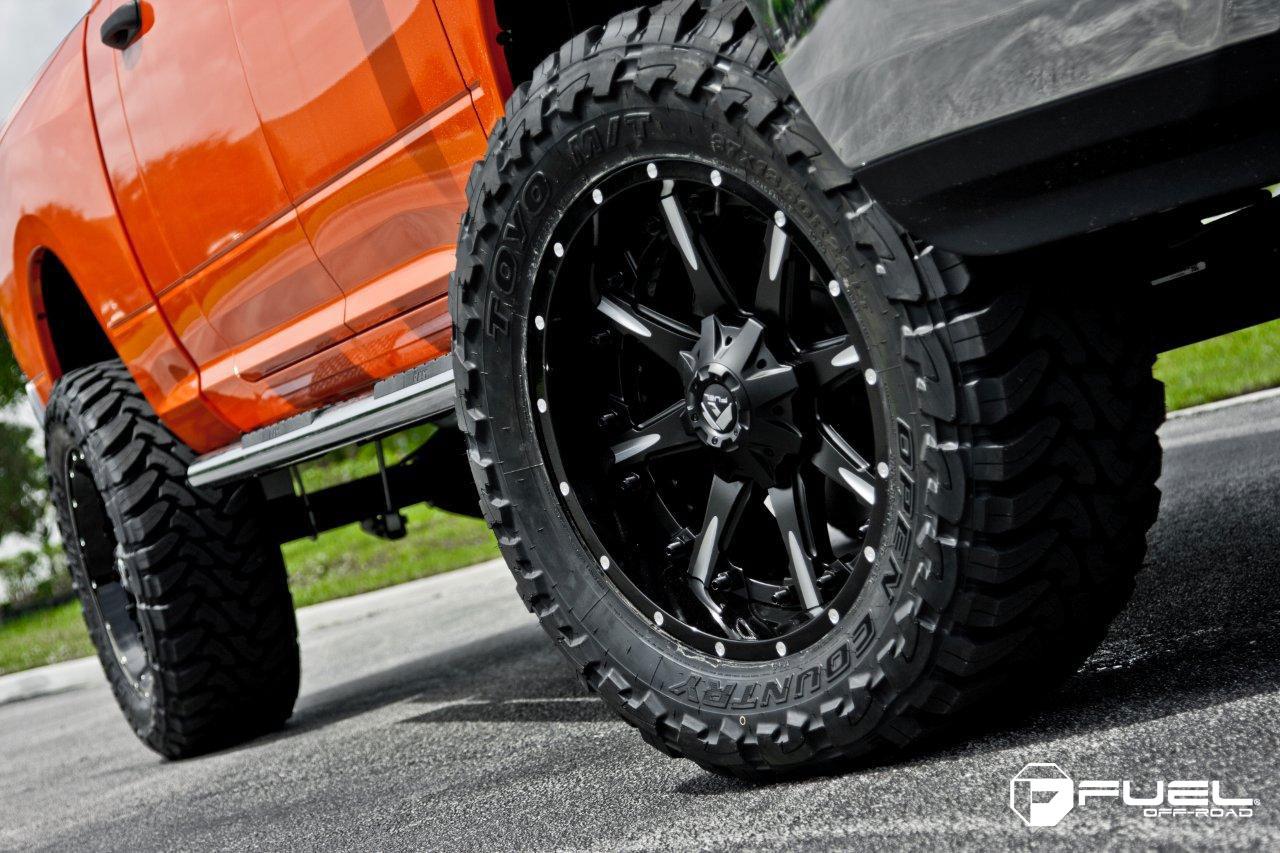 Car | Dodge Ram 2500 on Fuel 2-Piece Nutz - D251 Wheels ...