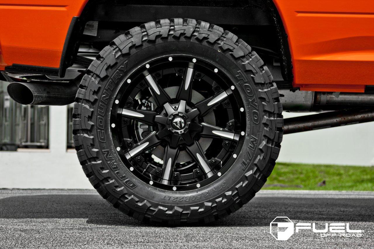 Dodge Lift Kits >> Car | Dodge Ram 2500 on Fuel 2-Piece Nutz - D251 Wheels ...