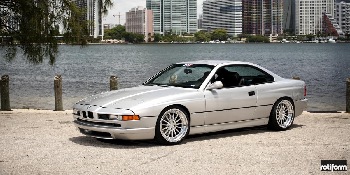 Car BMW Series On Rotiform DUS Wheels California Wheels - 8 series bmw
