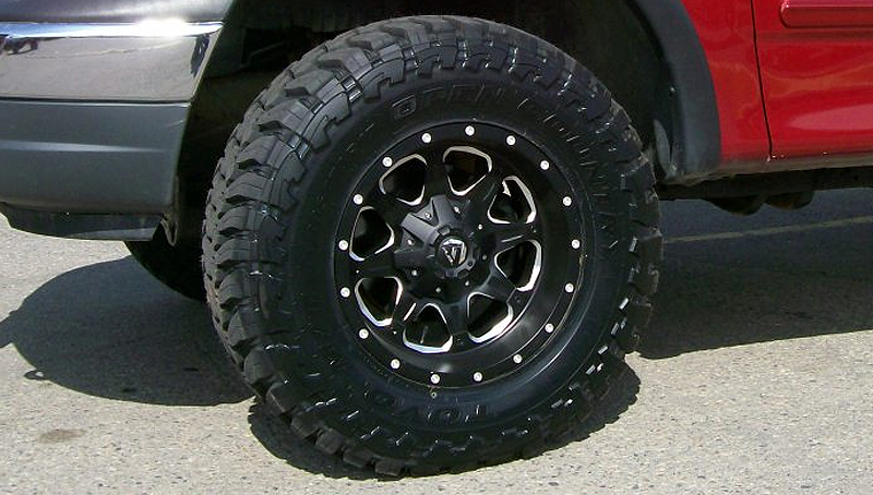 Top Tire Brands >> Car | Ford F-150 on Fuel 1-Piece Boost - D534 Wheels ...