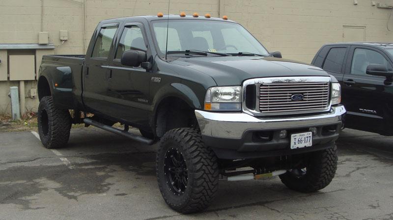 Fuel Dually Wheels >> Car | Ford F-350 on Fuel 1-Piece Hostage - D530 Wheels ...