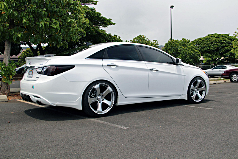 Car Hyundai Sonata On Mrr Design Hr2 Wheels California
