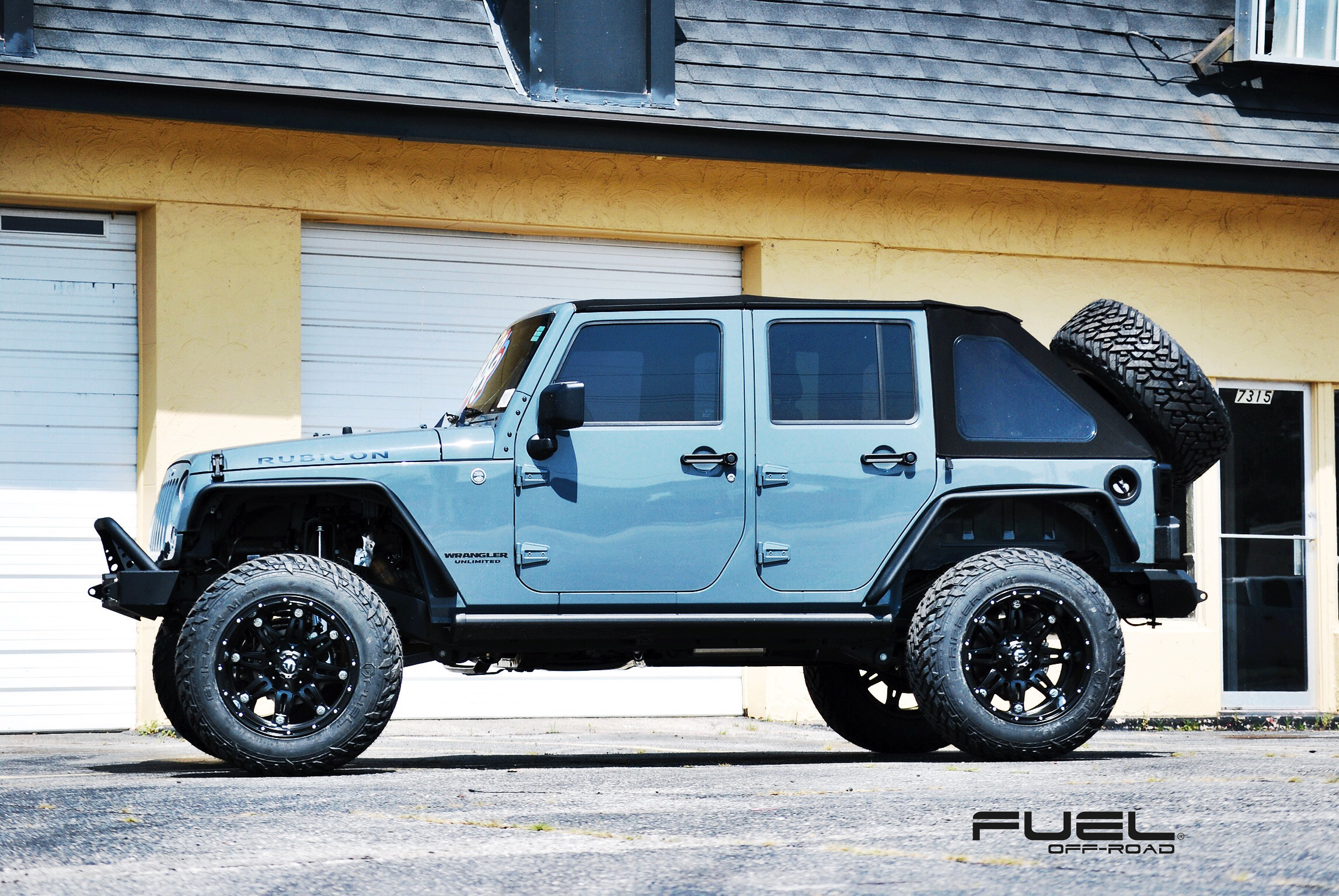 car jeep wrangler on fuel deep lip hostage d531 wheels