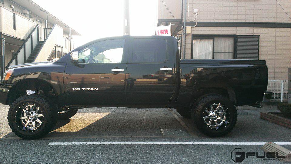 Car | Nissan Titan on Fuel 2-Piece Maverick - D260 Wheels ...