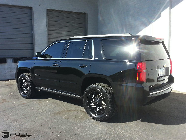 Car   Chevrolet Tahoe on Fuel 1-Piece Full Blown - D554 ...