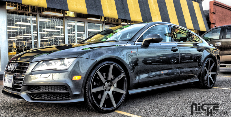 Audi Service Prices >> Car   Audi A7 on Niche Sport Series Verona - M150 Wheels   California Wheels