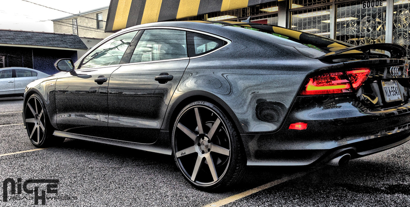 Car Audi A7 On Niche Sport Series Verona M150 Wheels