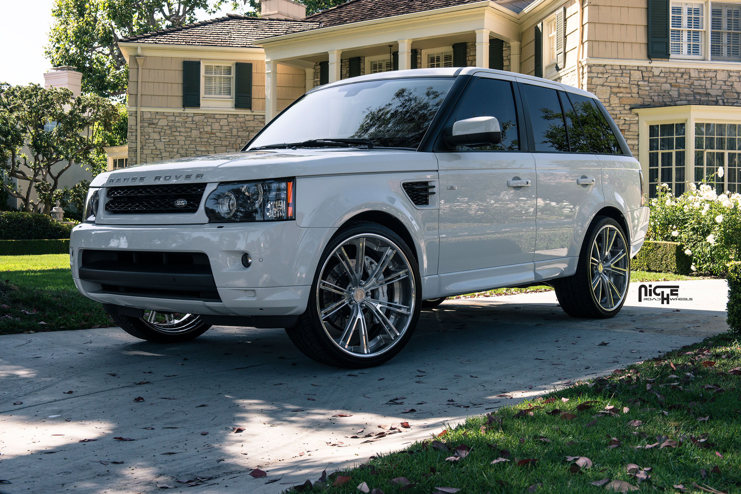 Car Land Rover Range Rover Sport On Niche Forged Ritz Wheels