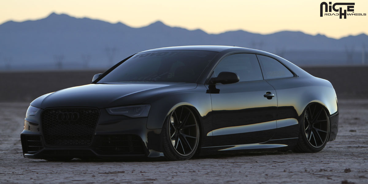 Car Audi S On Niche Forged Misano Wheels California Wheels - Audi s5 custom