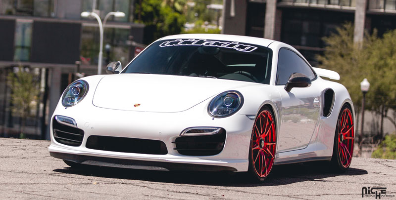 car porsche 911 turbo on niche forged grand prix wheels. Black Bedroom Furniture Sets. Home Design Ideas