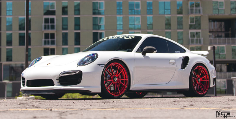 car porsche 911 turbo on niche forged grand prix wheels california wheels. Black Bedroom Furniture Sets. Home Design Ideas