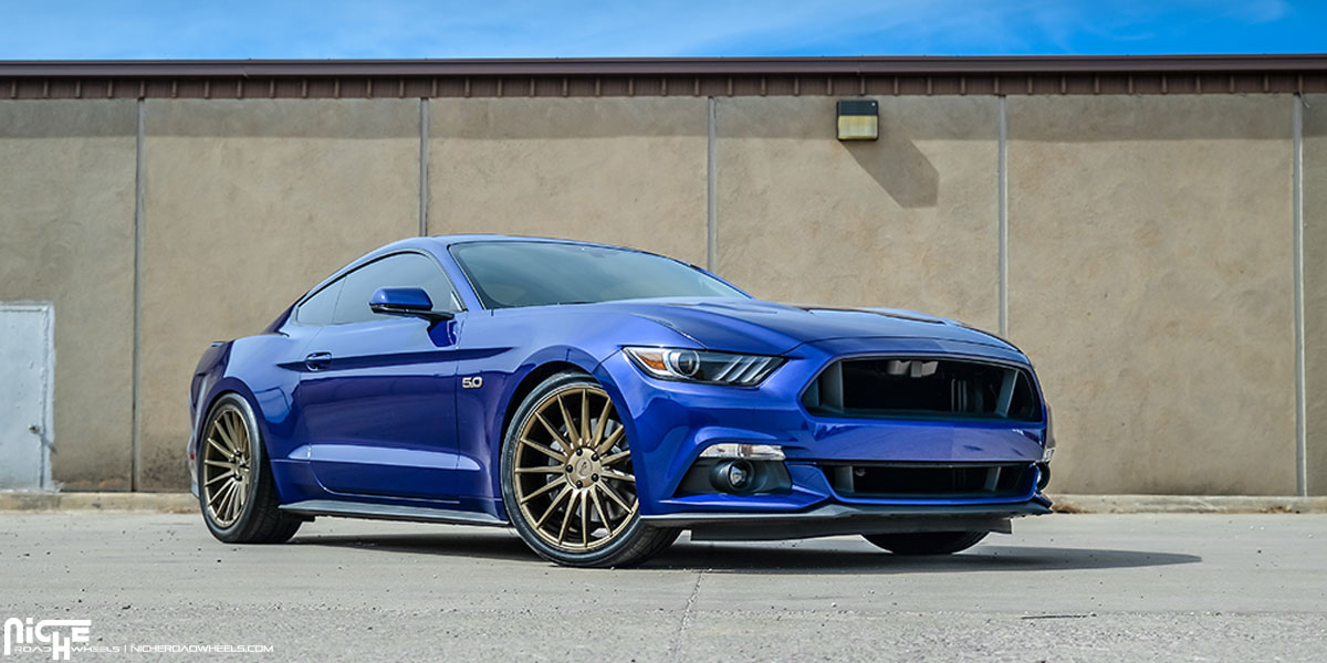 Niche Wheels Mustang >> Car Ford Mustang On Niche Sport Series Form M158 Wheels