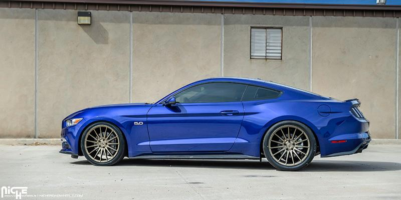 Car | Ford Mustang on Niche Sport Series Form - M158 Wheels ...