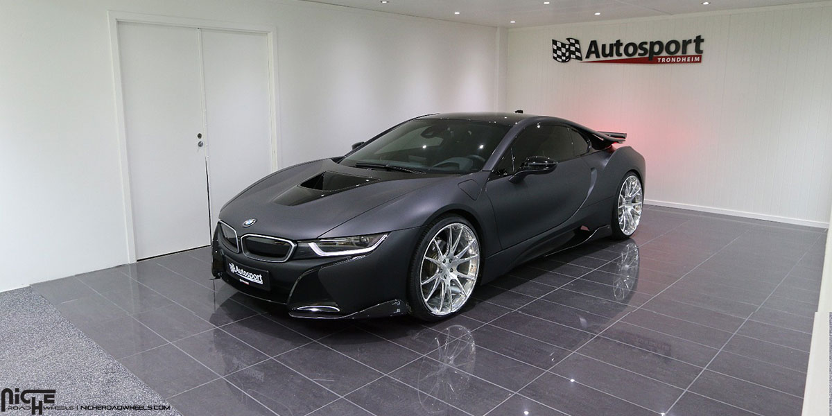 Car Bmw I8 On Niche Forged Vicenza Wheels California Wheels