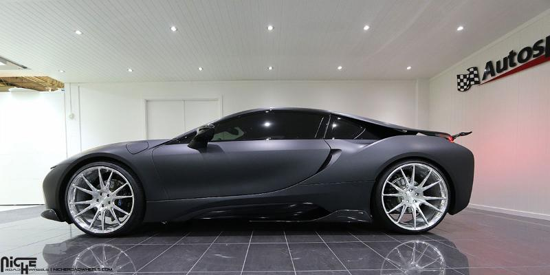 Niche Road Wheels >> Car | BMW i8 on Niche Forged Vicenza Wheels | California ...
