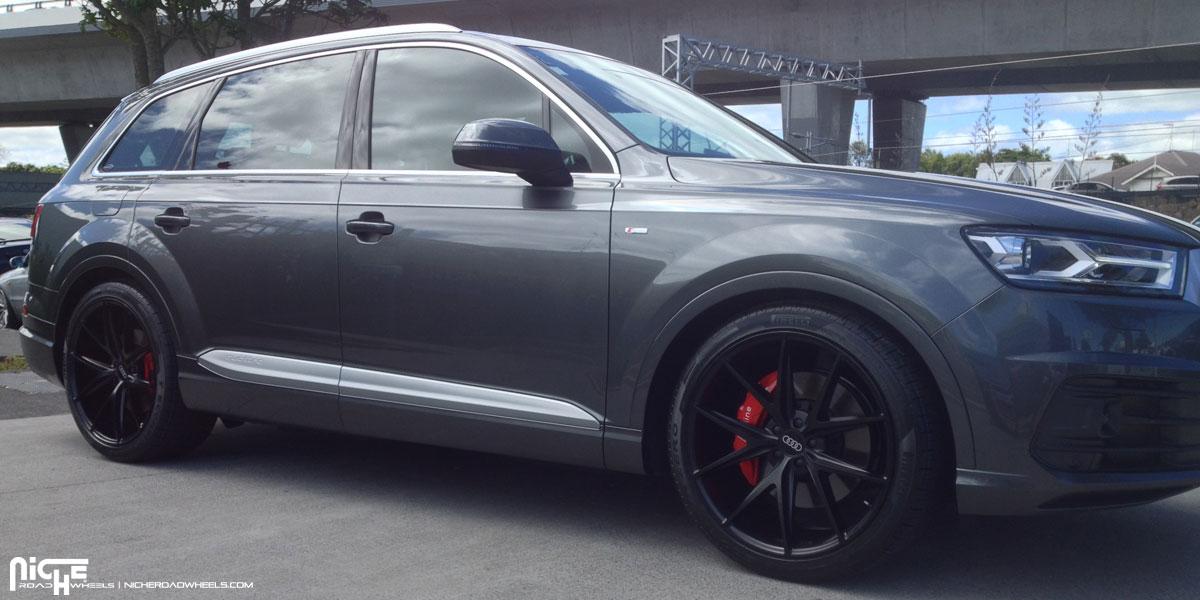 Car Audi Q7 On Niche Sport Series Misano M117 Wheels California Wheels