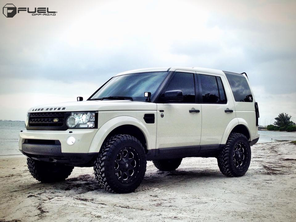 Car | Land Rover LR4 on Fuel 1-Piece Boost - D534 Wheels ...