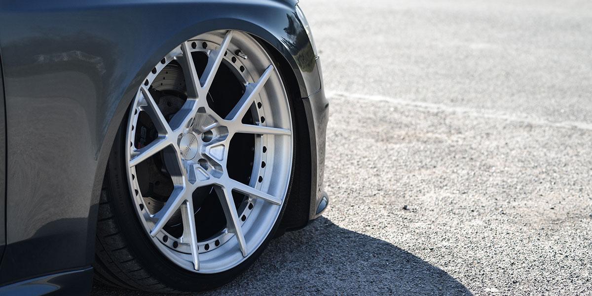 Car Audi A4 All Road On Rotiform Kps Wheels California